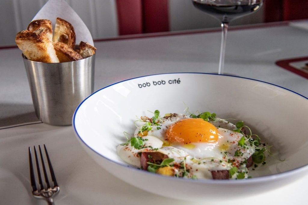 Bob Bob Cité duck egg au plait