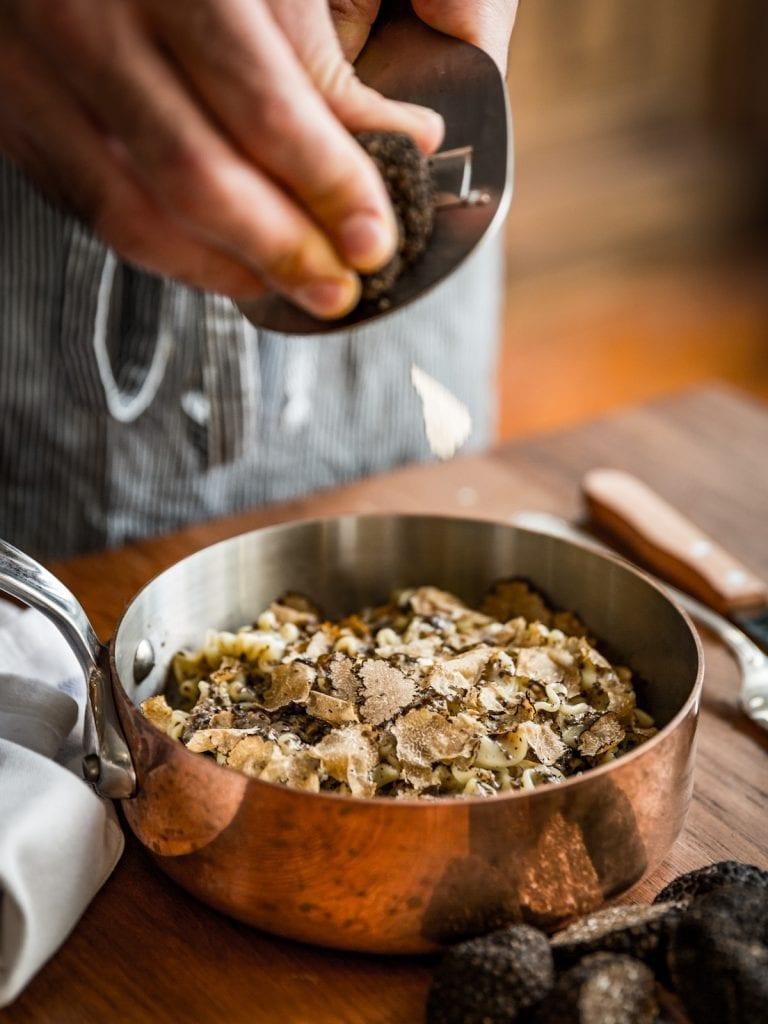 Gloria's 'La vera pasta al tartufo' | Photo: Joakim Blockstrom