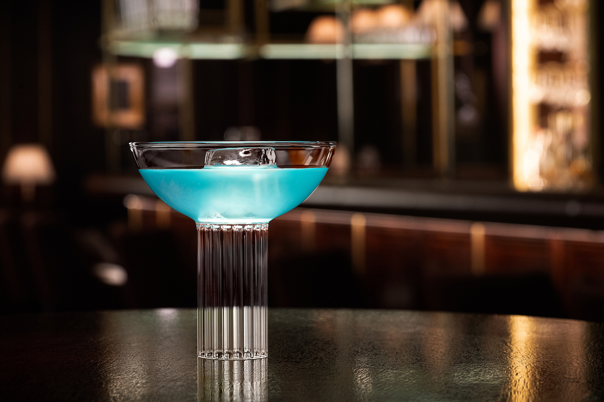The American Bar - Lady Liberty cocktail