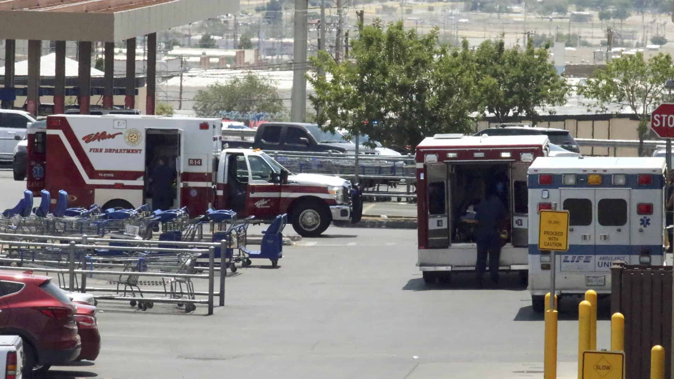 El Paso Walmart gunman charged with murder as domestic terrorist
