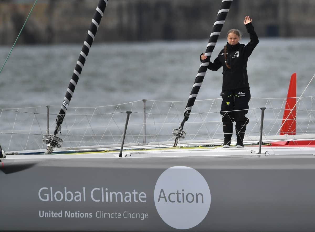 Green Greta: Setting sail for United Nations summits on climate change