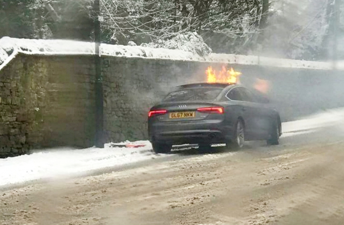 Vape Pen Exploded, setting fire to clothes and car
