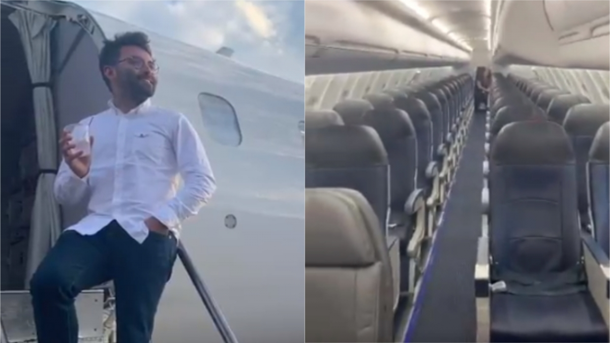 Delta Passenger's Lucky Day: Gets Entire Flight To Himself