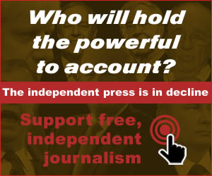Support free independent investigative journalism